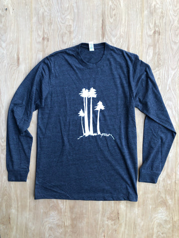 Long sleeve pnw tree shirt