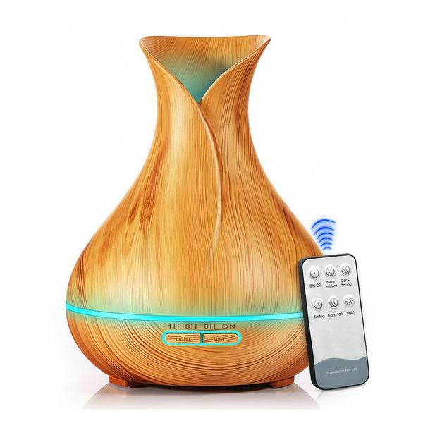 550ml Wood Grain Tulip Diffuser