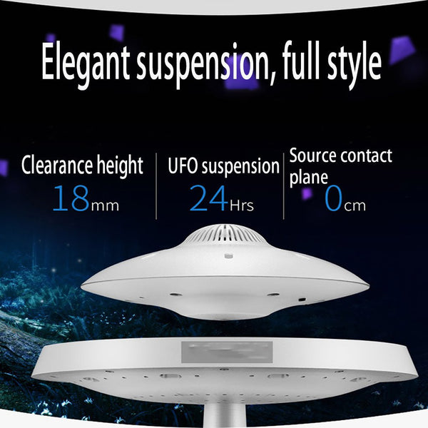 UFO Floating Bluetooth Speaker Lamp