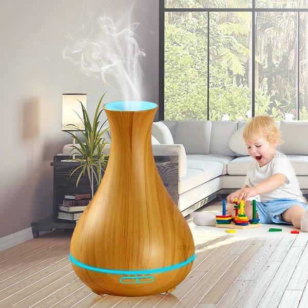 550ml Wood Grain Tulip Model B