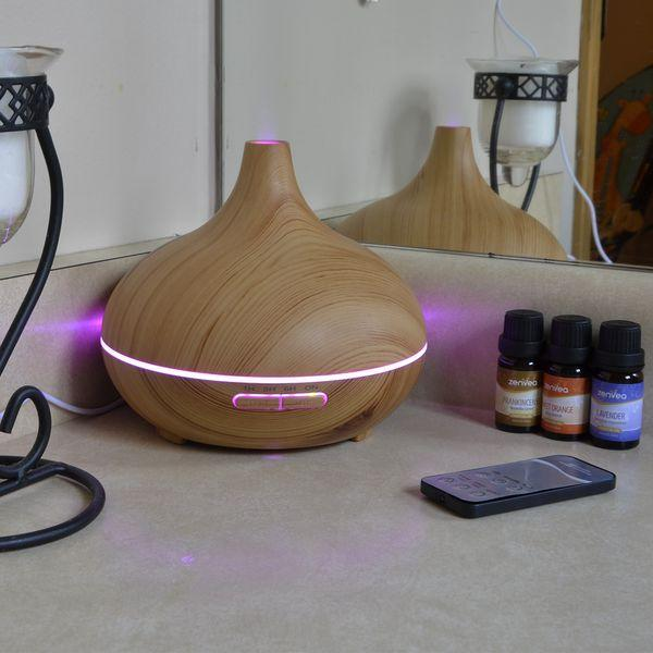 150ml Wood Grain Cool Mist Diffuser