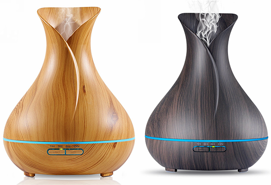 400ml Wood Grain Cool Mist Diffuser Special