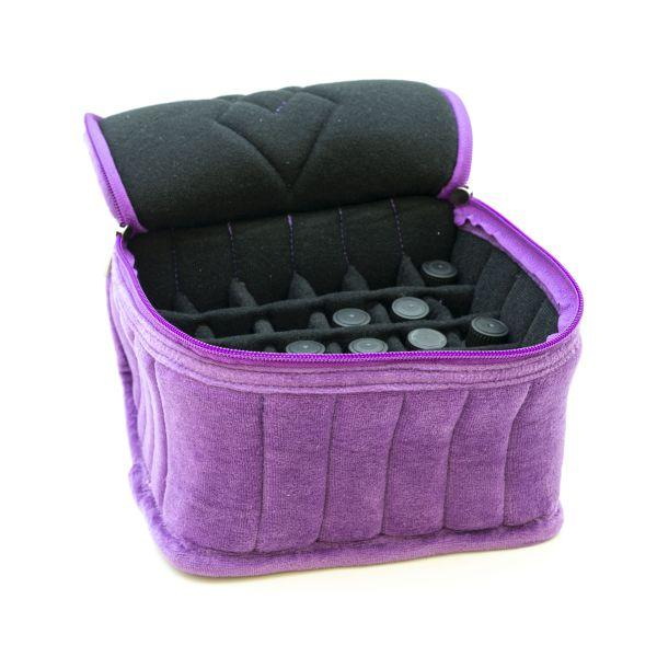 Zenvea Soft Essential Oil Storage Travel Tote - Holds 30 Bottles