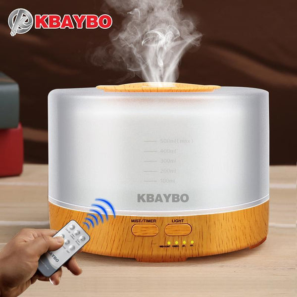 500ml Essential Oil Diffuser With Remote