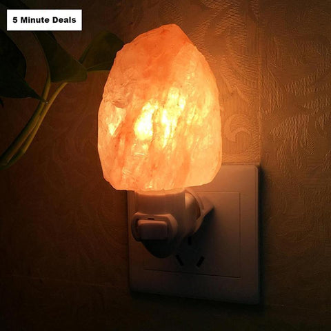 10W Himalayan Salt Lamp Night Light