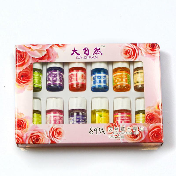 Starter 12pc 3ml Bottles - Fragrance Essential Oil Pack Spanish