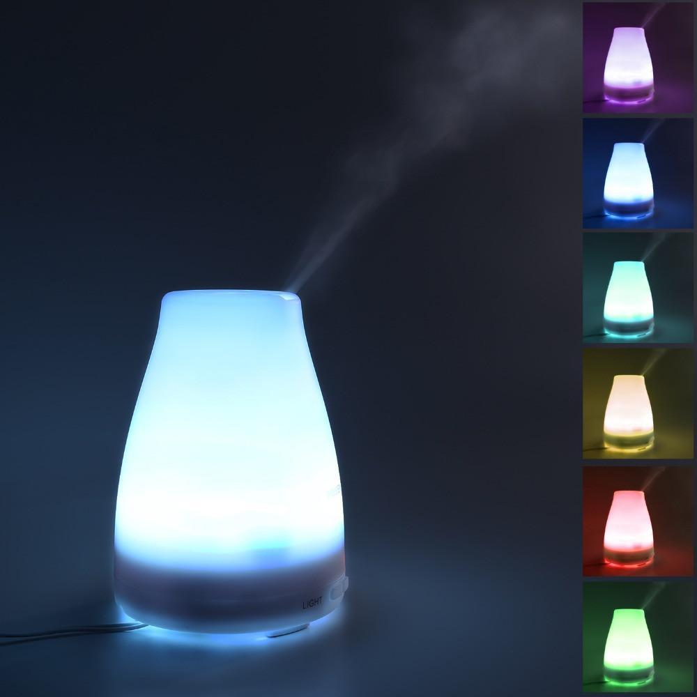 120ML LED 7 Color Change Ultrasonic Aroma Diffuser