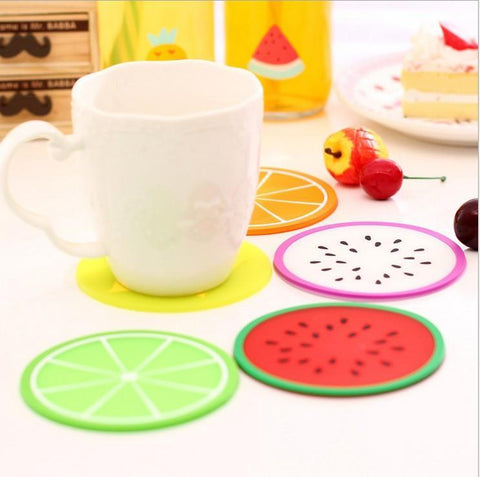 Fruit Shape Heat Resistant Coasters