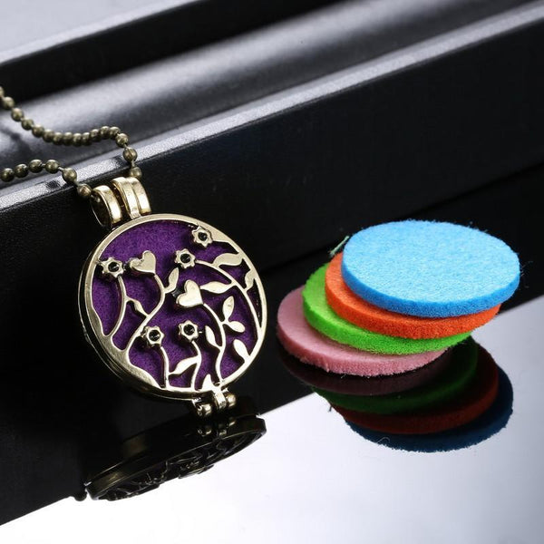FREE Aromatherapy Essential Oil Necklace (+ S&H)