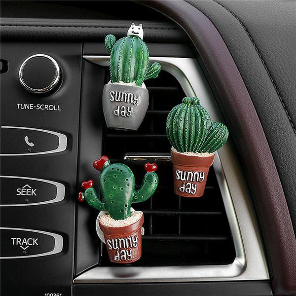Cute Cactus Car Decals