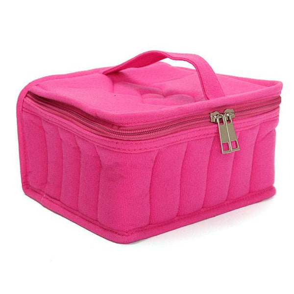 Soft Essential Oil Storage Travel Tote - Holds 30 Bottles