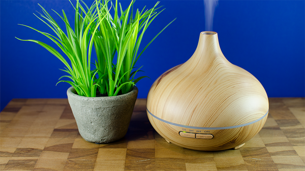 300ml Wood Grain Cool Mist Aroma Diffuser