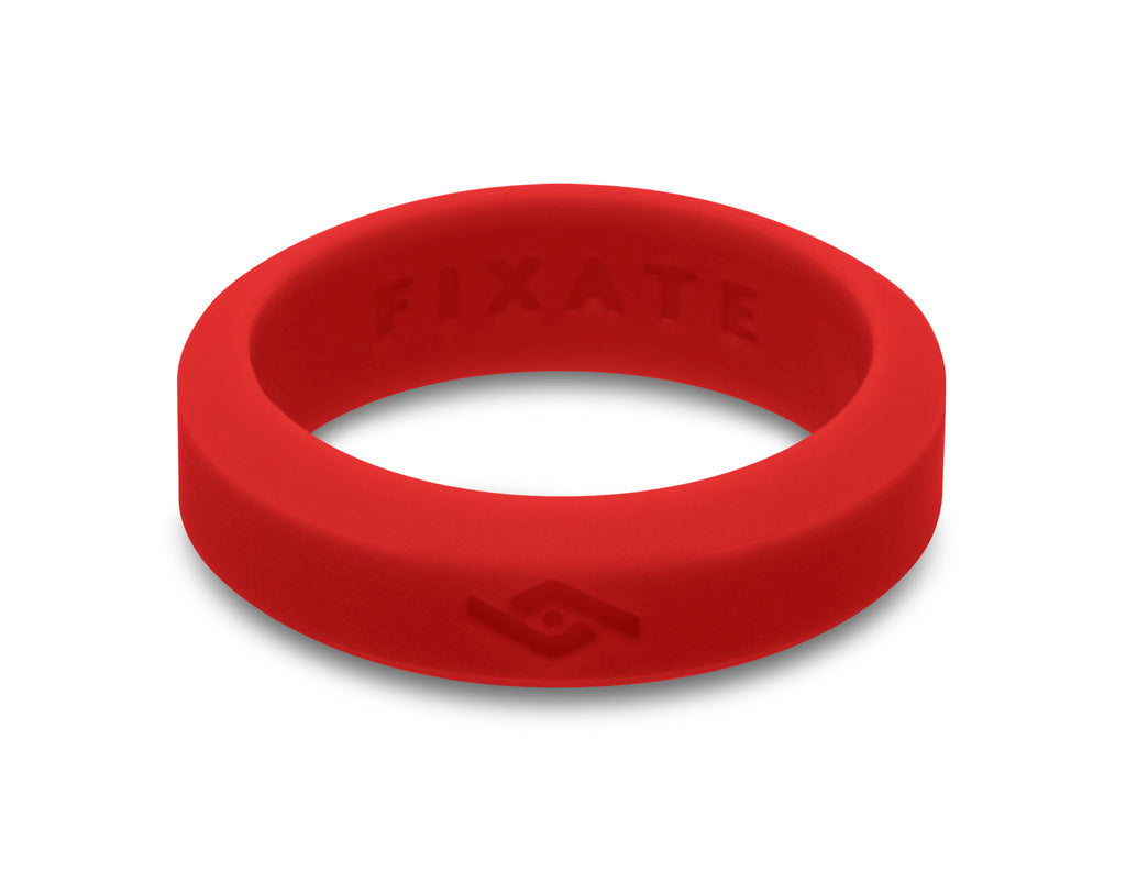 Slant Silicone Rings