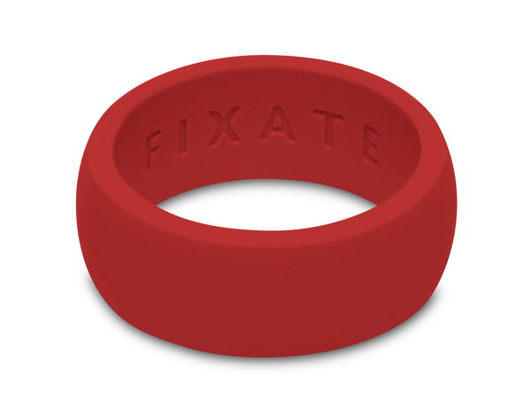 FX8 Stealth Men's Silicone Ring  | Cardinal