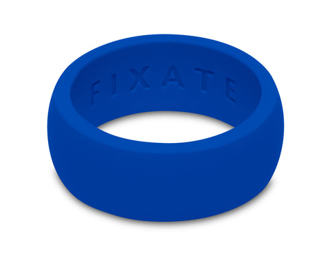 FX8 Stealth Men's Silicone Ring  | Cobalt Blue