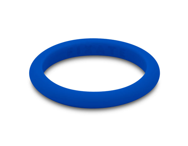Stackables Women's Silicone Ring | Cobalt Blue