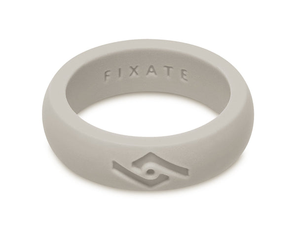 FX8 Women's Silicone Ring | Cool Gray