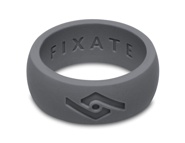 FX8 Men's Silicone Ring  | Smoke