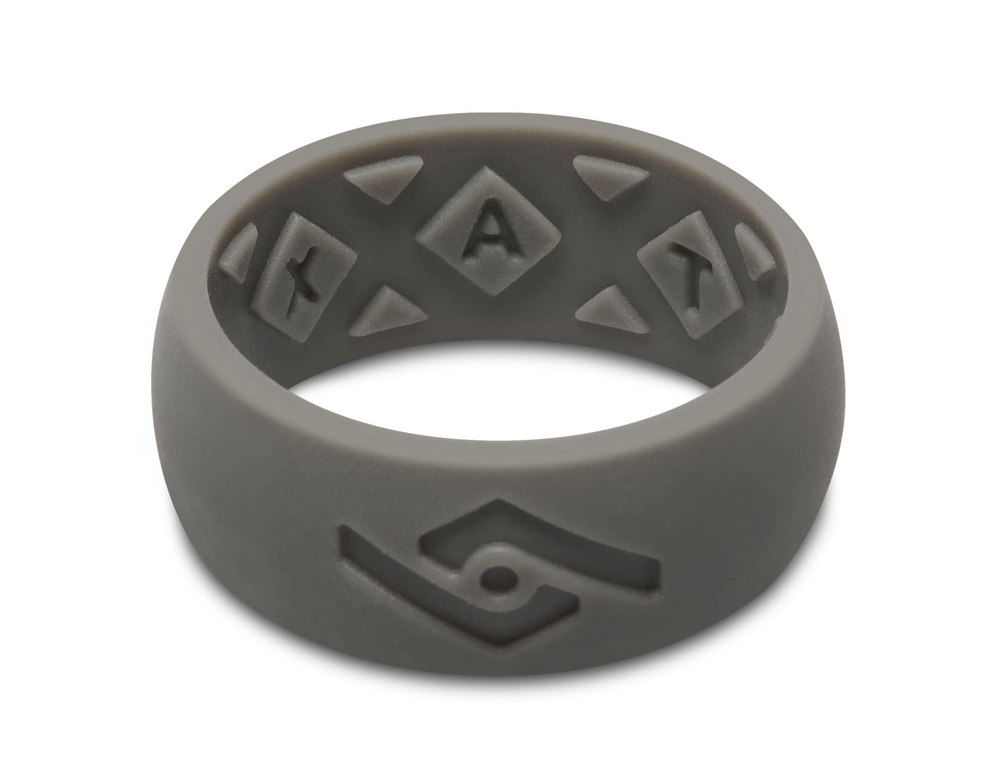 FX8 XVent Mens Silicone Ring Dark Slate Fixate Designs