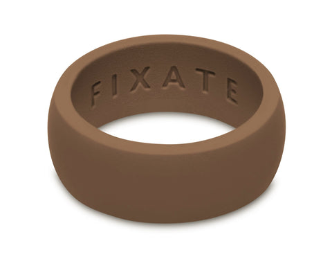 FX8 Stealth Men's Silicone Ring  | Espresso