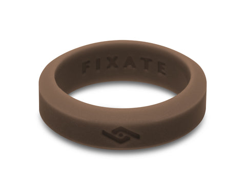Slant Silicone Ring | Earth