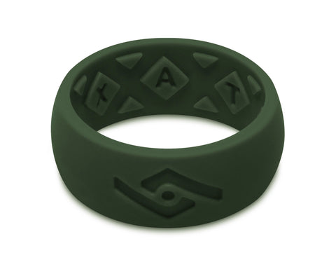 FX8 X-Vent Men's Silicone Ring | Emerald