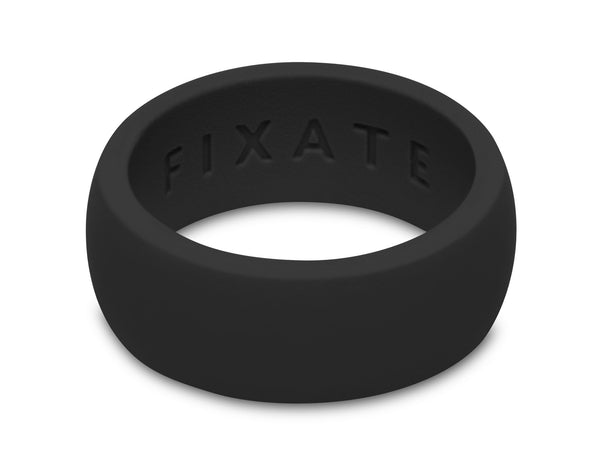 FX8 Stealth Men's Silicone Ring  | Jet Black