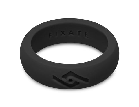 FX8 Women's Silicone Ring | Jet Black