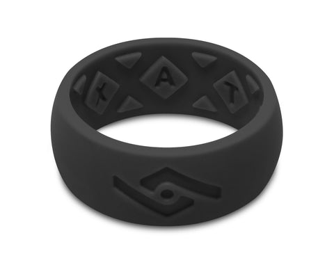 FX8 X-Vent Men's Silicone Ring | Jet Black