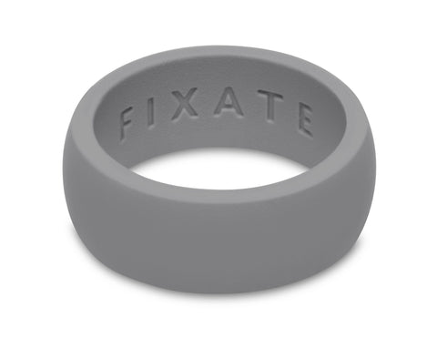 FX8 Stealth Men's Silicone Ring  | Light Gray