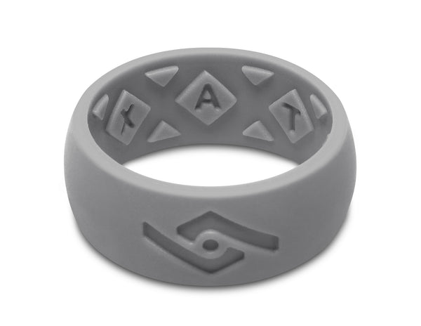 FX8 X-Vent Men's Silicone Ring | Light Gray