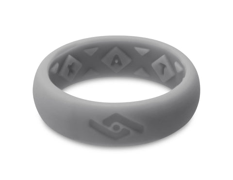 FX8 X-Vent Women's Silicone Ring | Light Gray