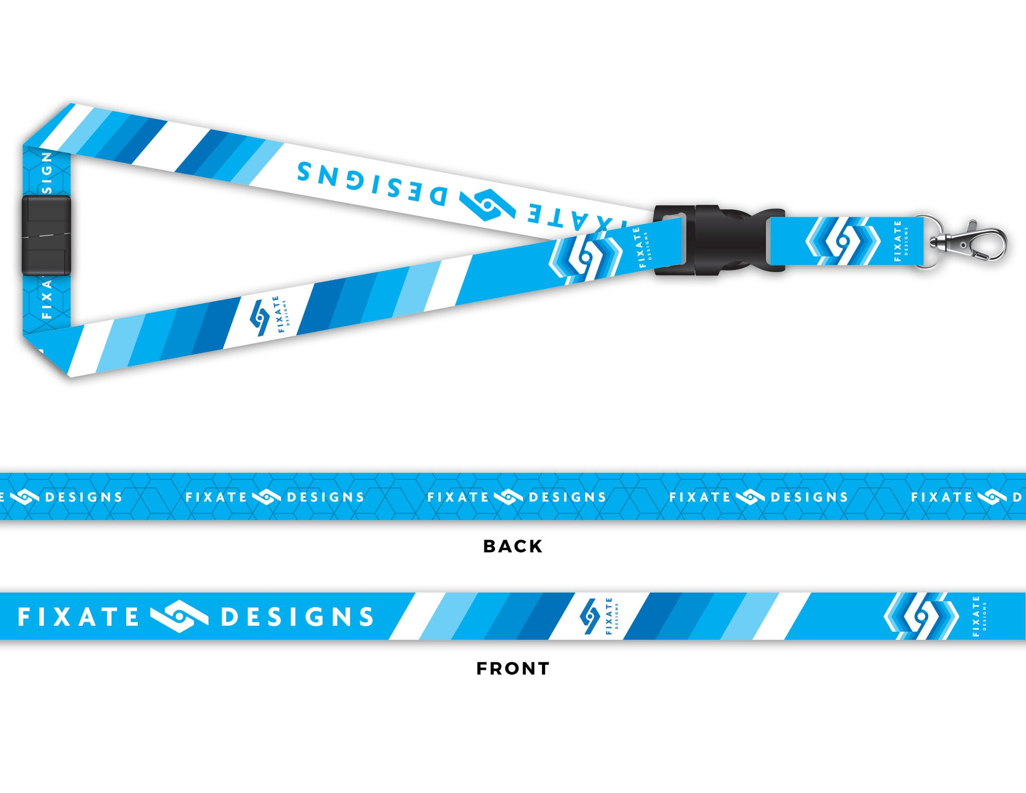 Apparel accessories fixate designs amped up lanyard malvernweather Choice Image