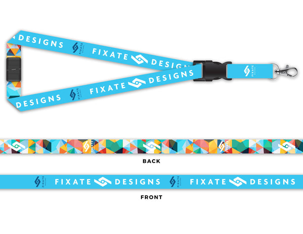 Art Deco Lanyard