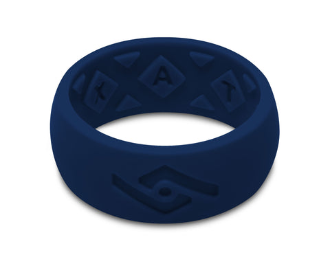 FX8 X-Vent Men's Silicone Ring | Navy