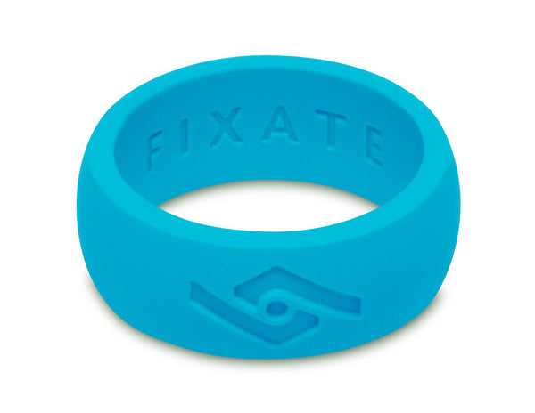 FX8 Men's Silicone Ring  | Neon Blue