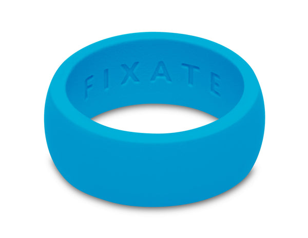 FX8 Stealth Men's Silicone Ring  | Neon Blue