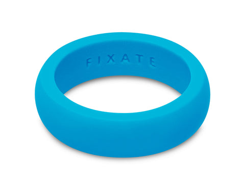 FX8 Stealth Women's Silicone Ring | Neon Blue