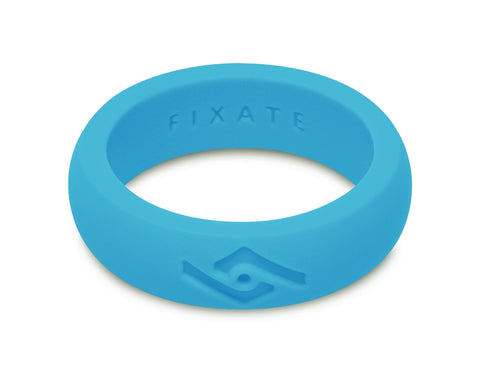 FX8 Women's Silicone Ring | Neon Blue
