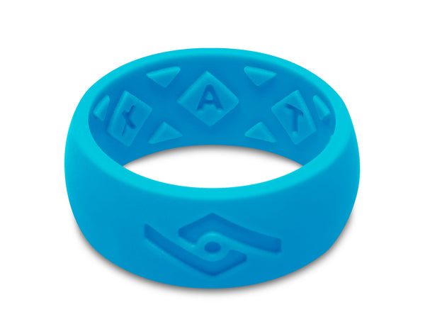 FX8 X-Vent Men's Silicone Ring | Neon Blue