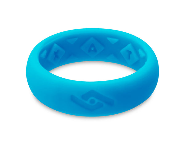 FX8 X-Vent Women's Silicone Ring | Neon Blue