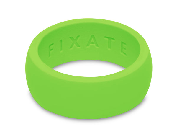 FX8 Stealth Men's Silicone Ring  | Neon Green