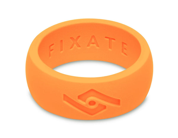 FX8 Men's Silicone Ring  | Neon Orange