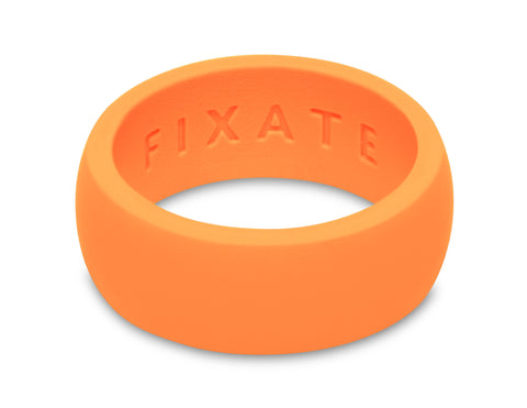 FX8 Stealth Men's Silicone Ring  | Neon Orange
