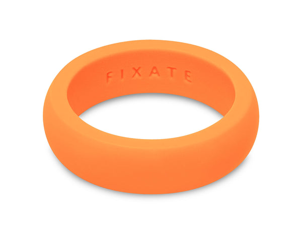 FX8 Stealth Women's Silicone Ring | Neon Orange