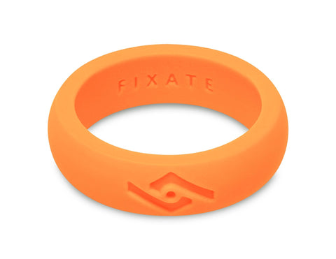 FX8 Women's Silicone Ring | Neon Orange