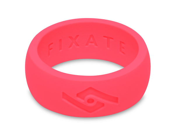 FX8 Men's Silicone Ring  | Neon Pink