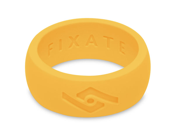 FX8 Men's Silicone Ring  | Neon Yellow