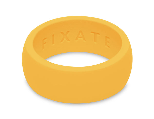 FX8 Stealth Men's Silicone Ring  | Neon Yellow