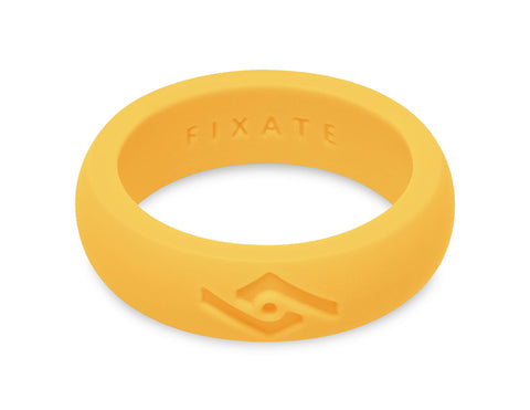 FX8 Women's Silicone Ring | Neon Yellow